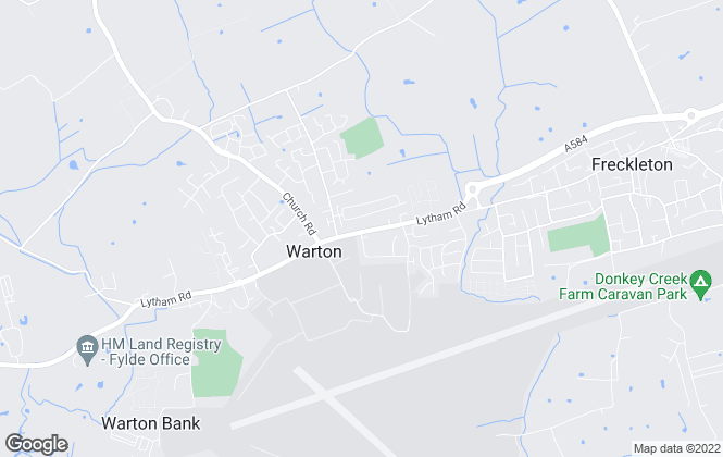 Map for Harbour Properties, Warton