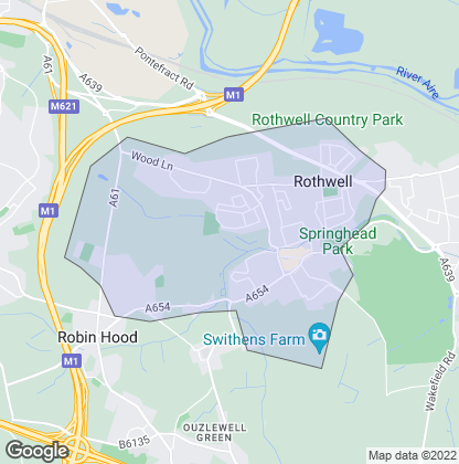 Map of property in Rothwell