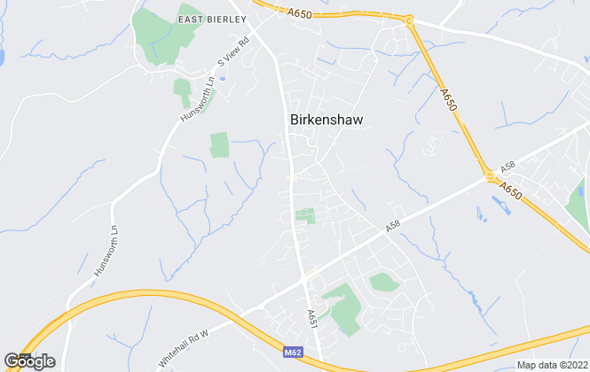 Map for Robert Watts, Birkenshaw