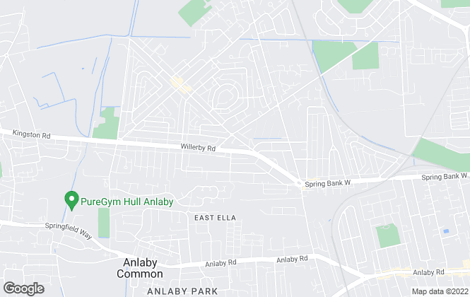 Map for Hunters, Willerby Road - Lettings
