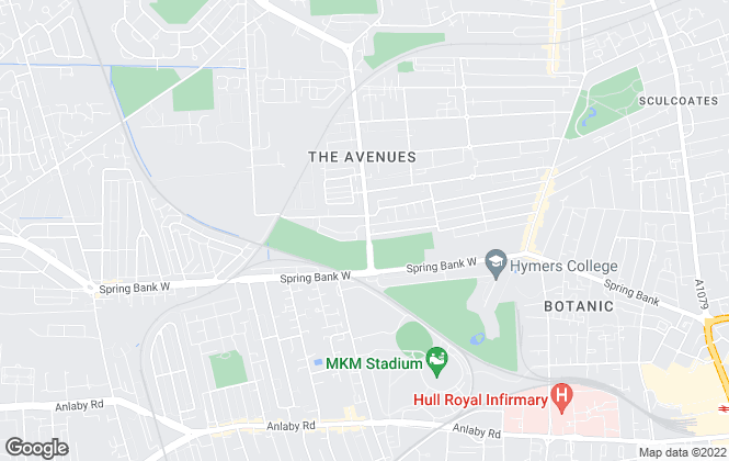 Map for MRC Estate & Letting Agents Ltd , Hull - Lettings