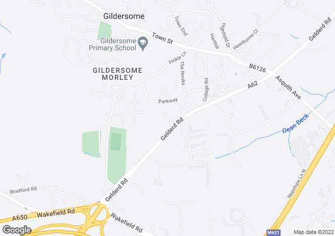 Map for Field Park Grange, Gildersome,Morley, Leeds LS27