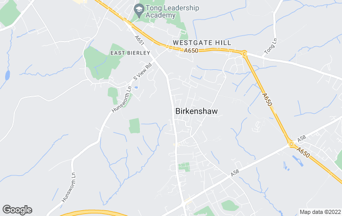 Map for Signature Homes, Birkenshaw