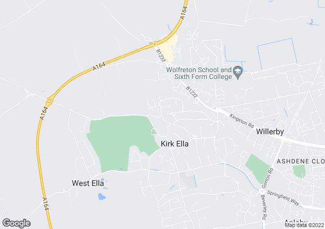 Map for Annandale Road, Kirk Ella, Kirk Ella, HU10