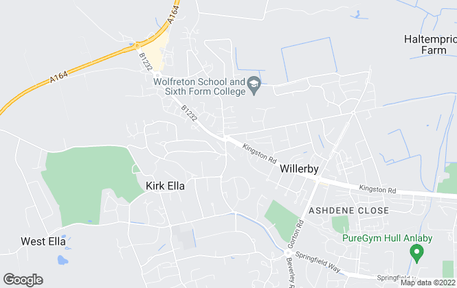 Map for Oscars Lettings & Property Management, Willerby