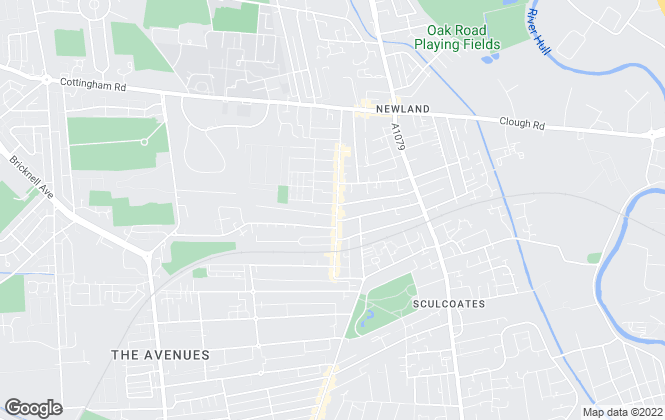 Map for Next Move Estate Agents, Hull HU5