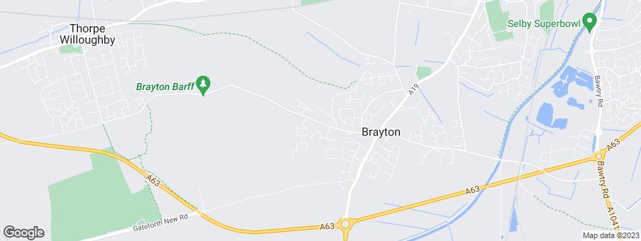 Map for Linden Homes East Yorkshire