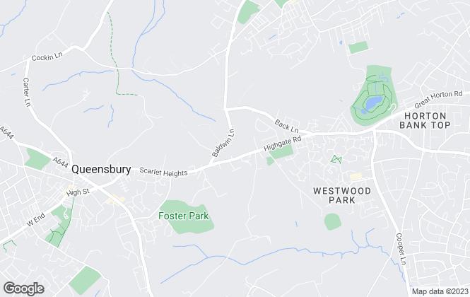 Map for Patchett Homes, Bradford