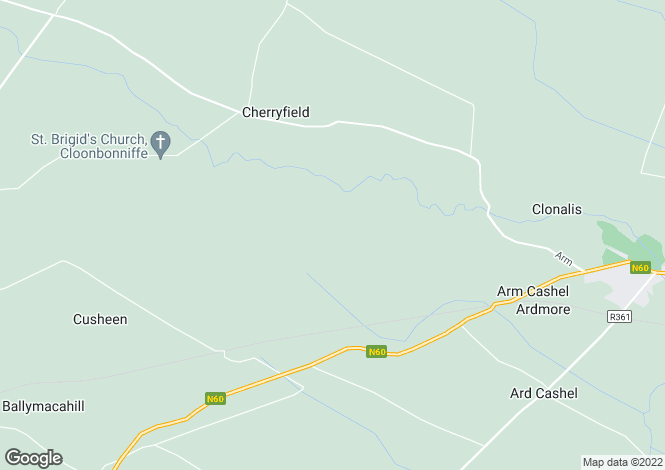 Map for Cloonchambers , Castlerea, Roscommon