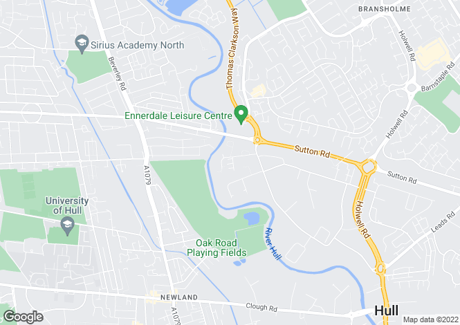 Map for Unit 30, Bergen Way, Sutton Fields, Hull, East Yorkshire, HU7 0YQ