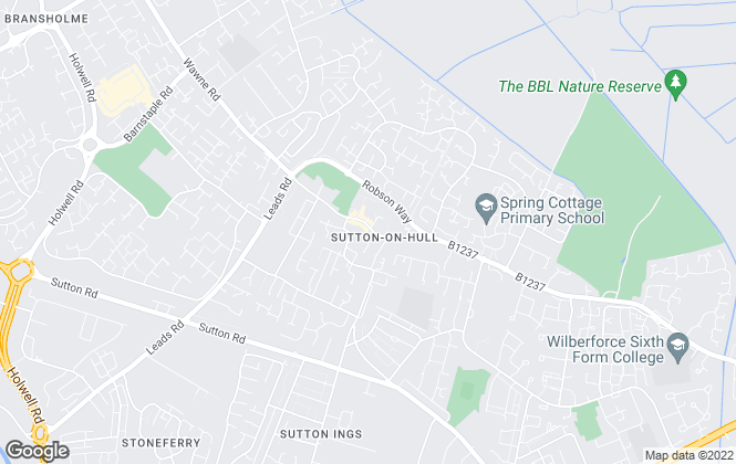 Map for Whitakers, Sutton-on-Hull - Sales