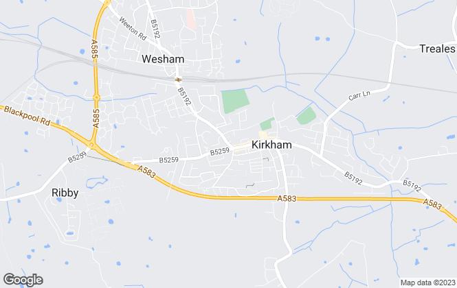 Map for Dewhurst Homes, Kirkham