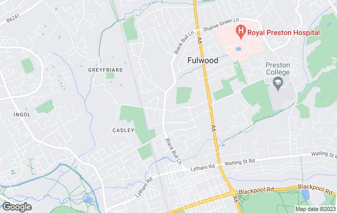 Map for Click estate Agents, Preston