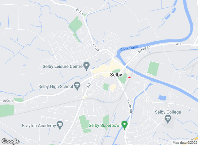 Map for Keith Taylor, Selby