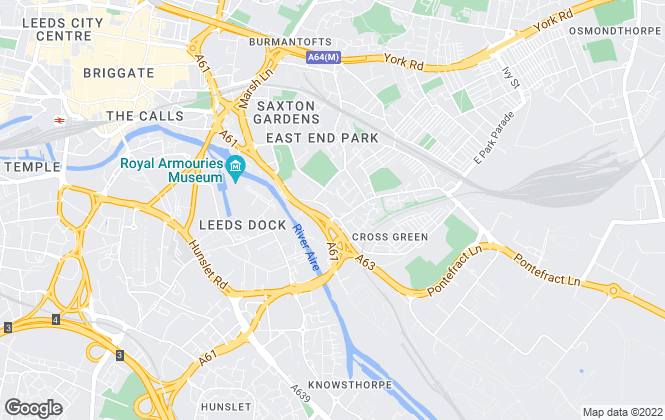 Map for Vision Properties, Leeds