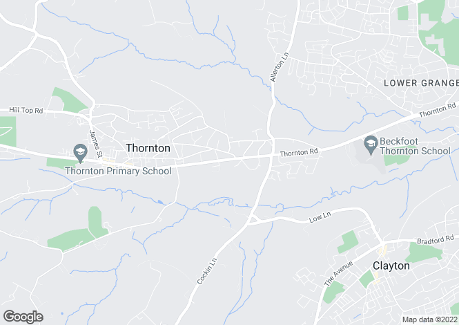 Map for Thornton Hall