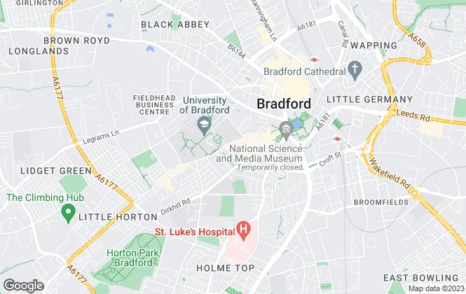 Map for Priestley & Co. Ltd, Bradford