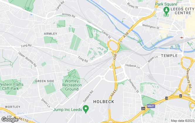 Map for Copleys Property Management, Leeds