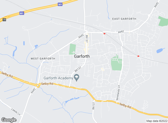 Map for Martin & Co, Garforth - Lettings