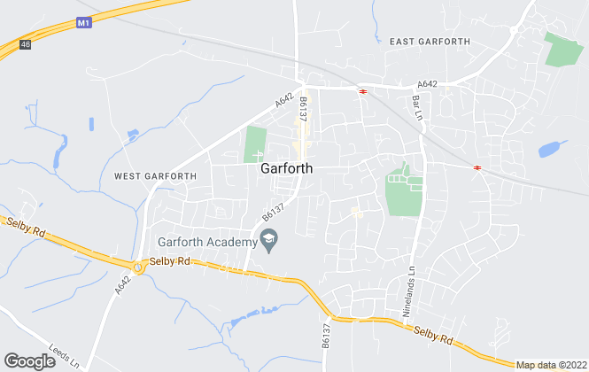 Map for Martin & Co, Garforth - Lettings & Sales