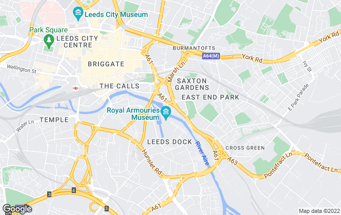 Map for BOWCLIFFE , Leeds