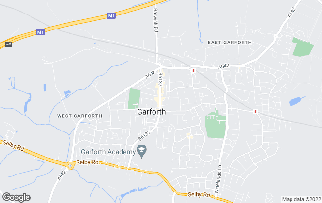 Map for Mike Dobson, Garforth