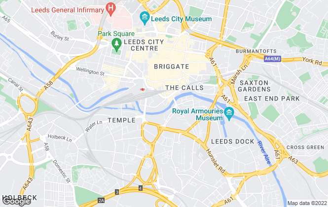 Map for Titchmarsh & Bagley, Leeds