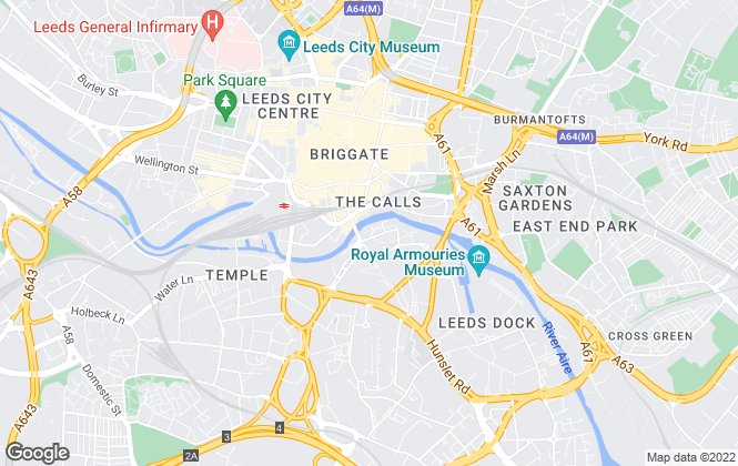 Map for Linley & Simpson, Leeds