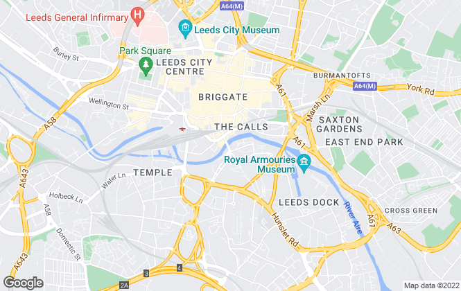 Map for Morgans City Living, Leeds