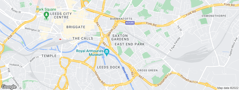 Map for Urban Splash Management Ltd