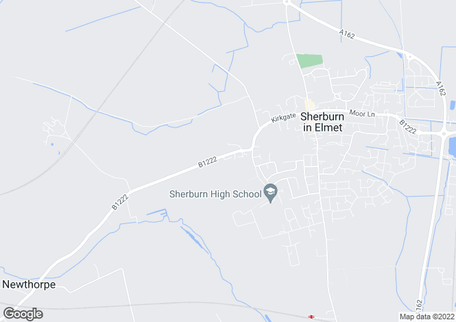Map for Church Hill Rise, Sherburn In Elmet, LS25