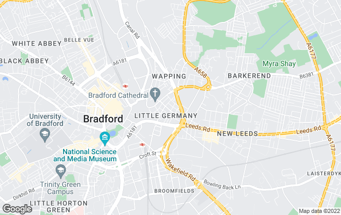 Map for Bradlon, Bradford
