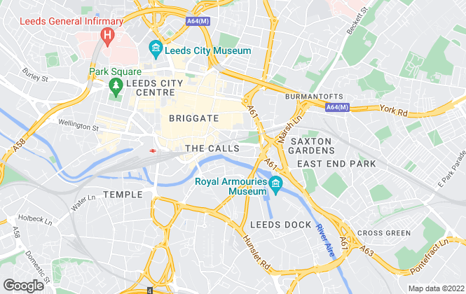 Map for Smart Investment & Management, Leeds