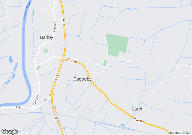 Map for South Duffield Road, Osgodby, North Yorkshire, YO8