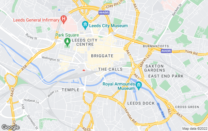 Map for Ascend , Leeds