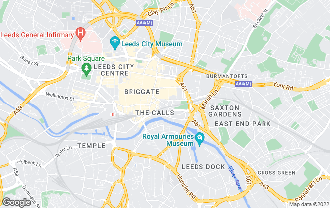 Map for Leeds Accommodation Bureau , Leeds