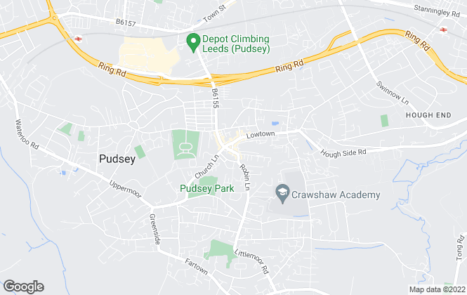 Map for Just Houses , Pudsey