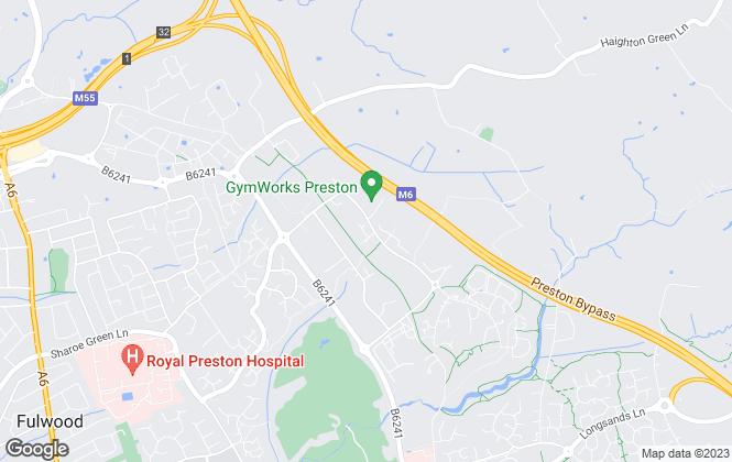 Map for Garside Waddingham Surveyors LLP, Lancashire
