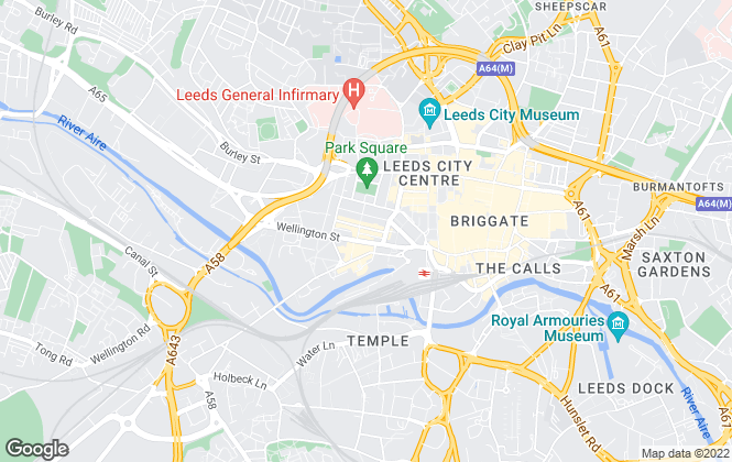 Map for North Property Group Ltd, Leeds
