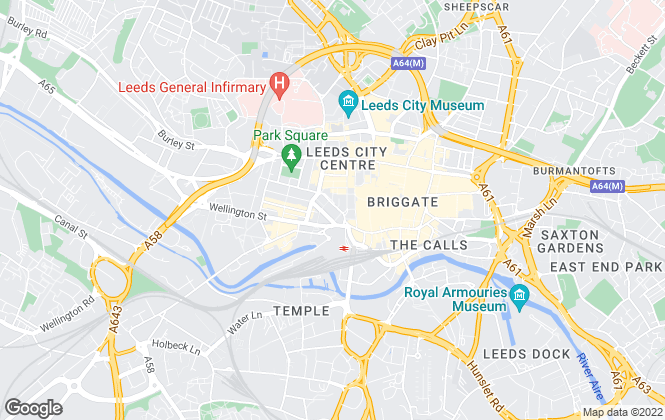 Map for Eddisons Residential, Leeds