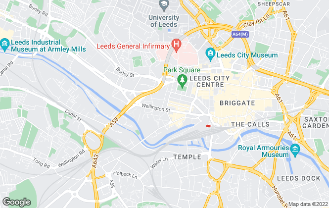 Map for Carter Towler Chartered Surveyors, Leeds