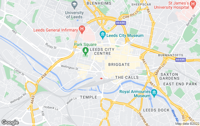 Map for Lambert Smith Hampton, Leeds