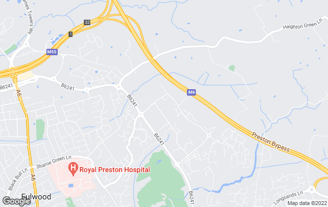Map for Lime Estate Agents, Preston