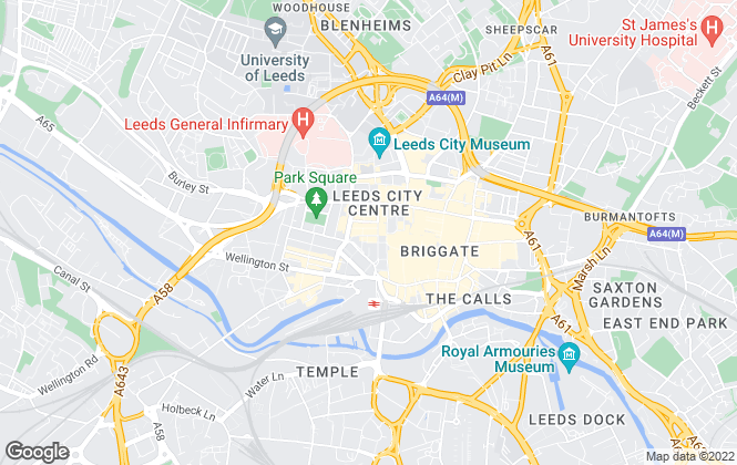 Map for Christie & Co , Leeds