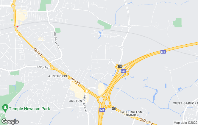 Map for Bruton Knowles , Leeds