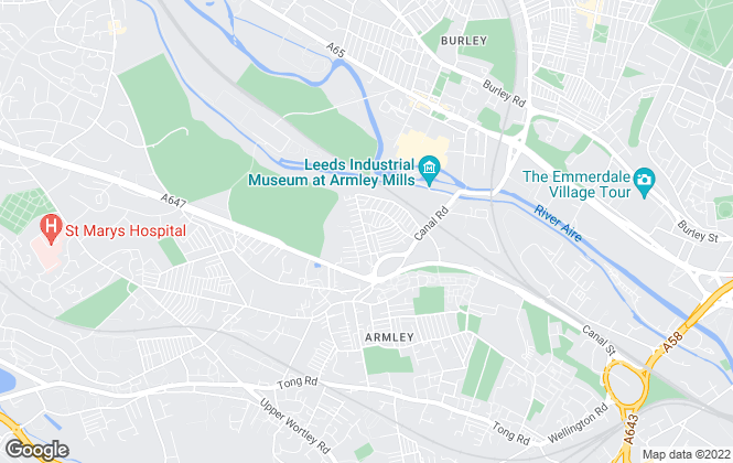 Map for Russell Robins, Leeds