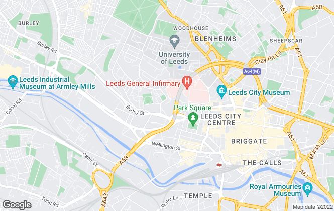 Map for Fleurets Limited, North