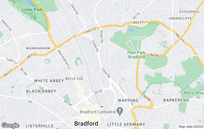 Map for Walker Singleton (Commercial), Bradford