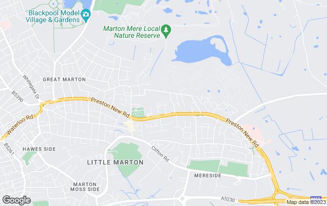 Map for Duxburys Commercial, Lancashire