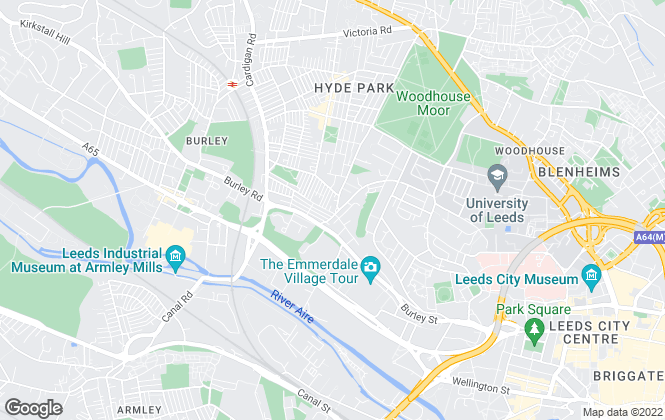 Map for Direct Property Sales & Letting , Leeds